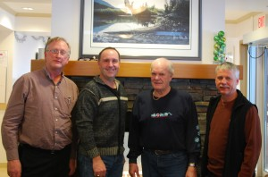 Mike Bernier visiting Surerus Place Feb6 2014
