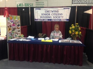 2014 Chetwynd Trade Show Barb Martin
